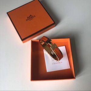 ❤️ Hermes orange bracelet❤️